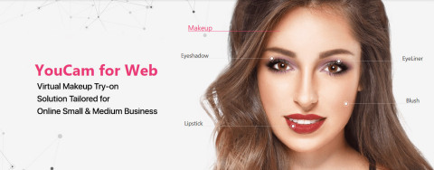 Perfect Corp. Launches the New 'YouCam for Web' Offering AR Makeup Try-on Solutions for Small & Medium Businesses (Graphic: Business Wire)