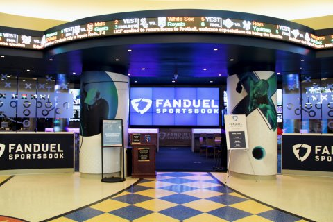 FanDuel Sportsbook at Tioga Downs Casino Resort (Photo: Business Wire)