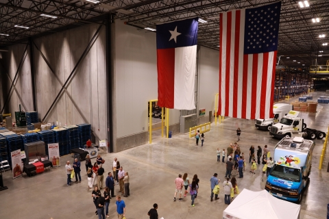 The Longview distribution center is the second Dollar General facility to open in the Lone Star state. (Photo: Business Wire)