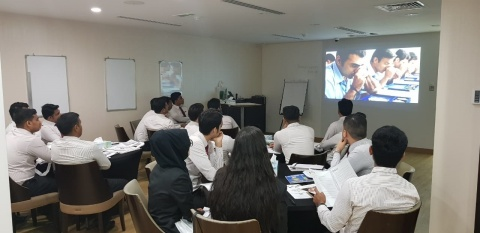Sales Associates of Malabar Gold and Diamonds during one of the trainings (Photo: Business Wire)