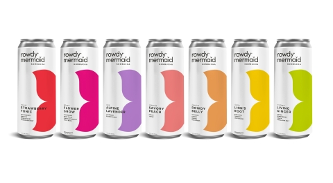 Rowdy Mermaid Kombucha Announces National Retail Availability of Cans (Photo: Business Wire).