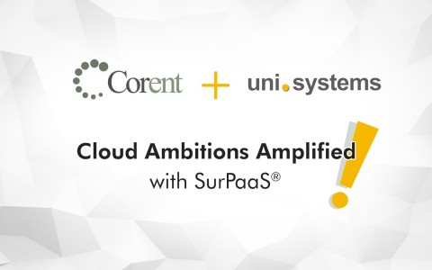 Corent Technology, a leader in cloud migration, and modernization technologies, and UniSystems, a distinguished ICT service provider in the European market and a trustworthy partner when it comes to complex ICT projects, today jointly announced the signing of a cooperation agreement. (Graphic: Business Wire)