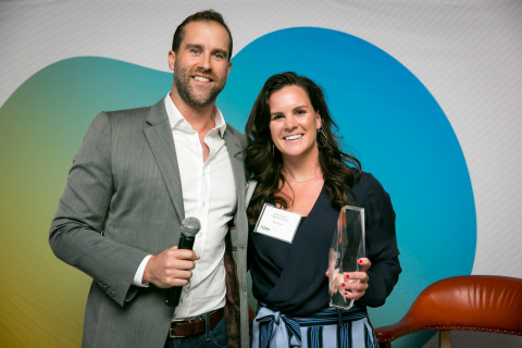 Left: Skye Spear, Signifyd; Right: Jordan Donahue, alliances manager, Blue Acorn (Photo: Business Wire)
