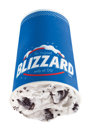 The Oreo® Blizzard Treat is the most popular Blizzard Treat to date (Photo: Business Wire)