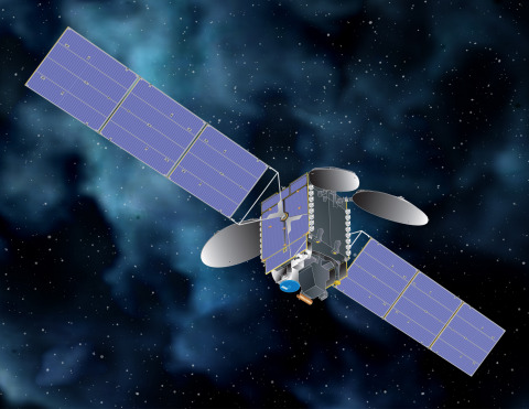 An artist's impression of TEMPO on Maxar's 1300-class satellite platform. Image: Maxar