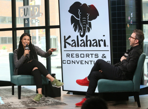 Kalahari Resorts and Conventions, home to America's Largest Indoor Waterparks, partnered with mother, singer and entrepreneur Jordin Sparks to celebrate National Waterpark Day. In advance of the holiday on July 28, the resort and Sparks made a donation to fund swimming lessons for children in underserved communities. To learn more about National Waterpark Day, please visit www.KalahariResorts.com. Photo Credit: Kalahari Resorts and Conventions.