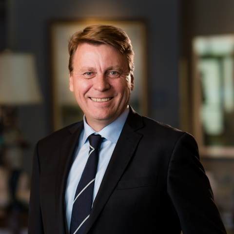Tom Palmer, Newmont Goldcorp's President (Photo: Business Wire)