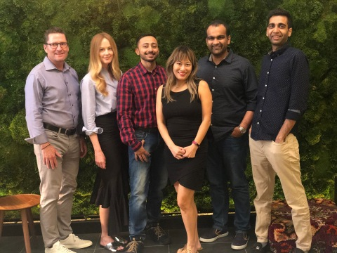 From left to right: Timothy Carey, Liz Snower, Amit Gupta, Audrey Wu, Aakrit Vaish, Nikhil Kejriwal (Photo: Business Wire)