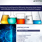 Reducing Overall Spend by Efficiently Operating Asset-Heavy and Inflexible Production Systems for a Chemical Company.