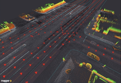 Mapper integrated Velodyne lidar sensors into easily deployable solutions for scalable high-definition mapping. (Photo: Business Wire)