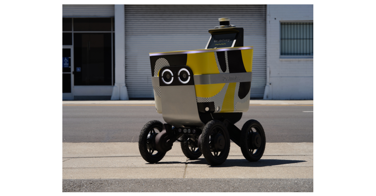 Postmates Selects Ouster Lidar for Autonomous Delivery Rover