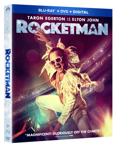 Bring Home The Epic Musical Celebration ROCKETMAN On Digital August 6 and On Blu-ray™ & DVD August 27 With Extended Musical Sequences, Deleted Scenes, Sing-Along & More! (Graphic: Business Wire)