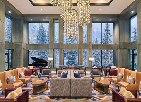 Grand Hyatt Vail Lobby (Photo: Business Wire)
