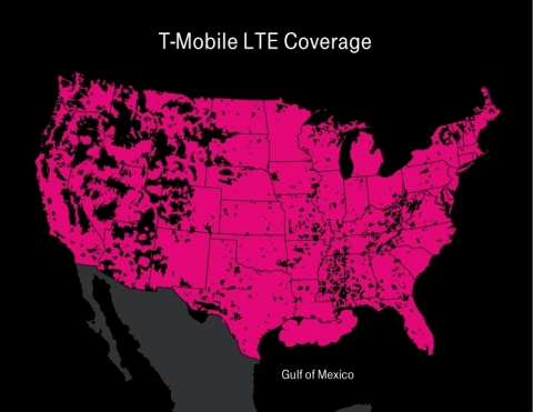 T-Mobile Lights Up LTE in the Gulf of Mexico – Another Un-carrier First (Photo: Business Wire)