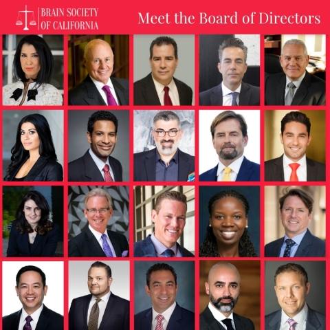Brain Society of California | Board of Directors (Graphic: Business Wire)