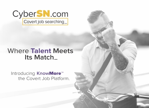 Black Hat 2019 begins on August 3 with four days of technical training programs, followed by two days of Business Hall hours on August 7 and 8. The CyberSN team will be demonstrating KnowMore from their booth in Oceanside, CZ 310. For more information visit www.cybersn.com (Photo: Business Wire)