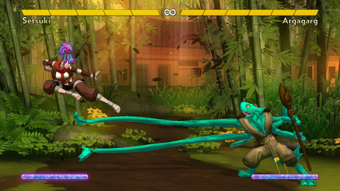Fantasy Strike is a colorful fighting game in which fantasy meets martial arts. (Photo: Business Wire)