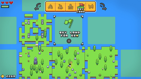 The Forager game will be available on July 30. (Photo: Business Wire)
