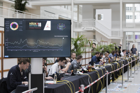 The Hague and Cybersprint organise a new edition of the hackers contest ´Hâck The Hague´ (Photo: Business Wire)