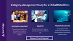 Category Management Study for a Global Retail Firm.