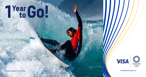 One year until the Olympic Games Tokyo 2020! As a Proud Partner for over 33 years, Visa is excited to support our #TeamVisa athletes as they prepare for #Tokyo2020. (Photo: Business Wire)