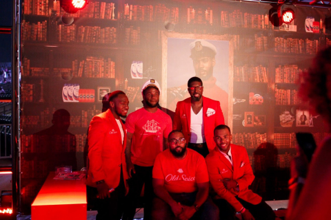 Cincinnati Music Festival fellas experience Old Spice: Exceptional Scents for Exceptional Gents. (Photo: Business Wire)