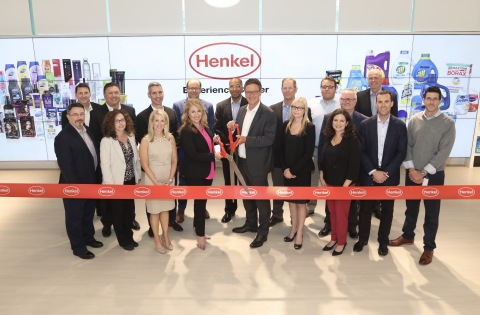 Leaders from Henkel North America celebrate the opening of the Henkel Experience Center in Stamford, CT. (Photo: Business Wire)