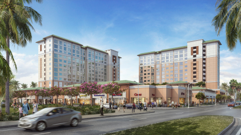 The $130 million Kulana Hale Mixed-Use affordable senior and multifamily apartment community in Kapolei, Hawaii. (Photo: Business Wire)