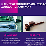 Market opportunity analysis for an automotive company (Graphic: Business Wire)