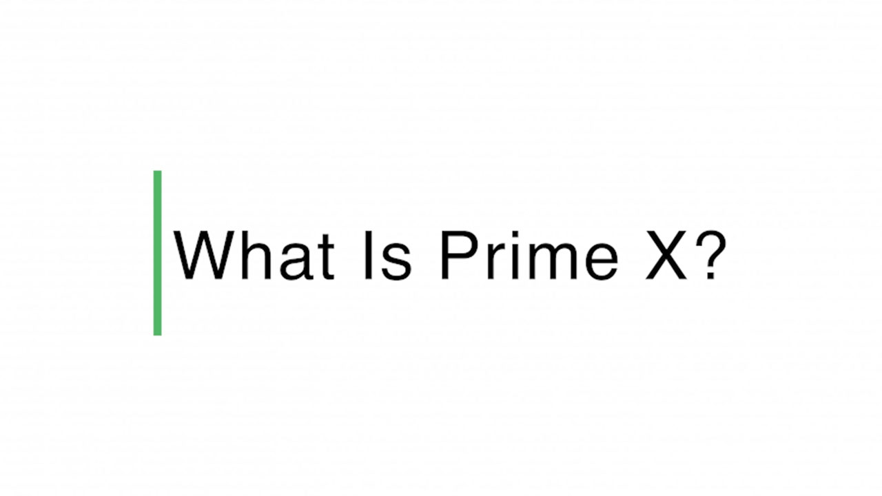 Watch this video to learn more about PrimeX, the Prime Exchange Network.