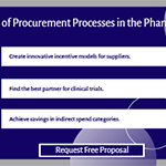 Importance of Procurement Processes in the Pharma Industry