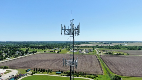 Cell Tower in Eastern Iowa (Photo: Business Wire)