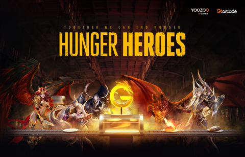 GTarcade Hunger Heroes is a charity gaming marathon held by GTarcade in the fight against hunger and famine. (Graphic: Business Wire)