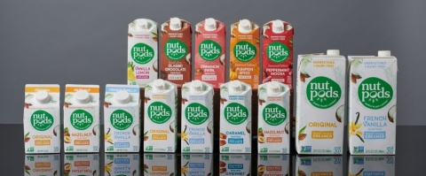 nutpods creamers are available in multiple flavors and sizes (Photo: Business Wire)