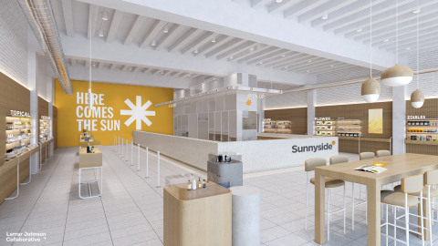 Cresco Labs announces new national retail concept, Sunnyside* (Photo: Business Wire)