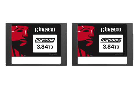 Kingston's recently released enterprise-class DC500R and DC500M SATA SSDs (Photo: Business Wire)