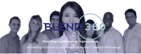 BLEND360. Marketing Solutions enabled by Data Science, Talent and Technology.