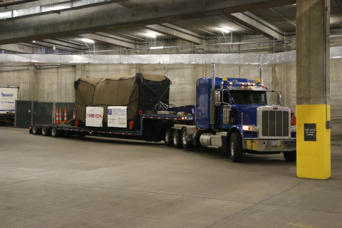 Accelerator For 2nd Mevion Proton Therapy System Delivered ...