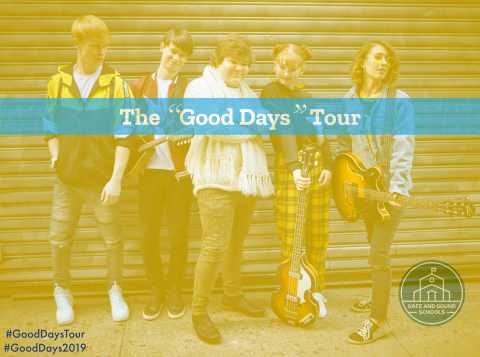 """Jeremy Ray Taylor and Chasing da Vinci will visit US high schools during The """"Good Days"""" Tour presented by Safe and Sound Schools.  (Photo: Business Wire)"""