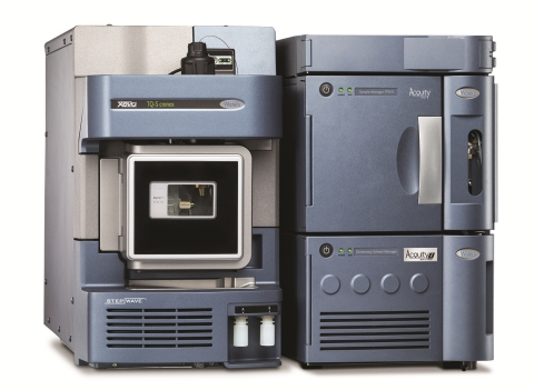 The Xevo TQ-S cronos is a new, tandem quadrupole mass spectrometer purposely-built for routine quantitation of large numbers of small-molecule organic compounds over a wide concentration range. (Photo: Business Wire)