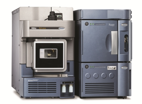 The Xevo TQ-S micro mass spectrometer features new performance enhancements that bring the quantitation of highly polar, ionic compounds in food to a higher level. (Photo: Business Wire)