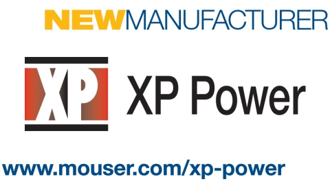 Mouser Electronics has signed a global distribution agreement with XP Power, a leading power solutions provider. Through the agreement, Mouser now stocks a wide variety of XP Power's AC-DC power supplies, DC-DC converters, high-voltage power supplies, and EMI filters. (Graphic: Business Wire)