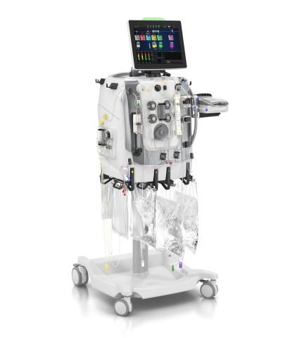 The PrisMax system and integrated TherMax blood warmer is Baxter's next-generation platform for continuous renal replacement therapy (CRRT) and therapeutic plasma exchange (TPE). (Photo: Business Wire)