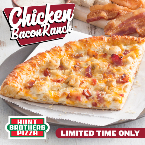 Chicken Bacon Ranch Pizza from Hunt Brothers Pizza (Photo: Business Wire)