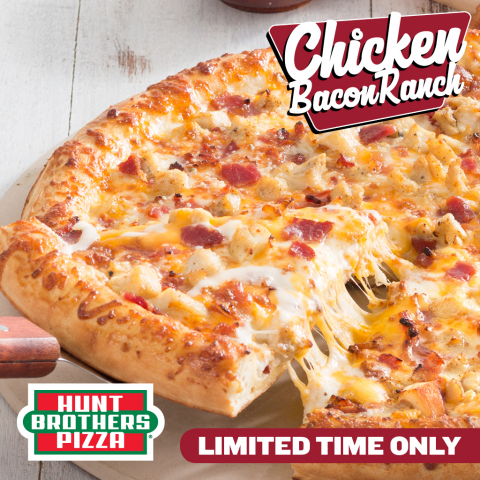 Hunt Brothers Pizza Chicken Bacon Ranch Pizza (Photo: Business Wire)