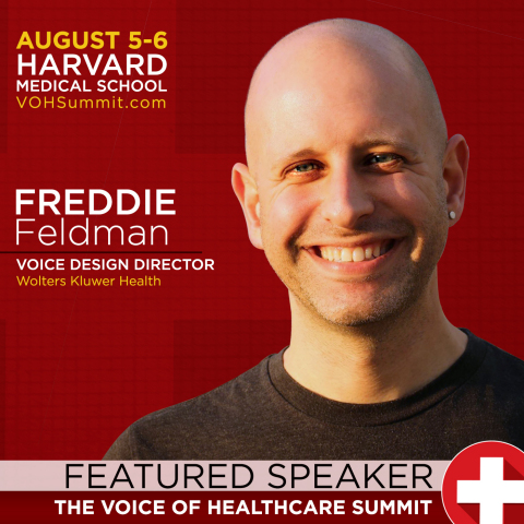 """Freddie Feldman, Wolters Kluwer's Voice Design Director, will present """"IVR's Lessons for Voice & Health"""" at the upcoming Voice of Healthcare Summit. (Photo: Business Wire)"""