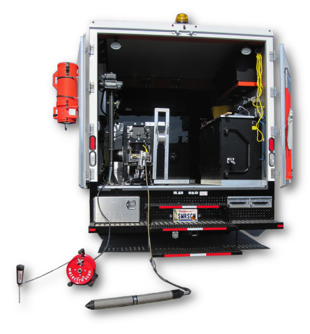 Electro Scan's patented machine-intelligent leak detection added to a standard CCTV truck. (Photo: Business Wire)