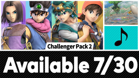 Starting later today, Hero from the DRAGON QUEST series enters the battle as a new playable fighter in the Super Smash Bros. Ultimate game for the Nintendo Switch system. (Graphic: Business Wire)