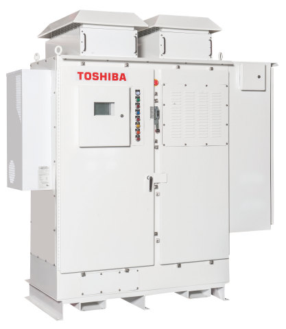 The Toshiba NEMA 3R Solution is ideal for harsh and dusty environments such as water/wastewater, mining, manufacturing, pipelines, and transportation hubs. (Photo: Business Wire)