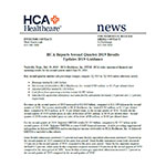 Printer Friendly Version - HCA Reports 2Q Earnings